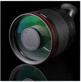 BOSMA 博冠天文镜头 尼康佳能索尼定焦神器500mm F/6.3 DX 折返镜 肯高同款宝贝 小黑炮定焦大光圈