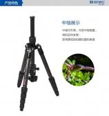 百诺碳纤维 三角架  tp40单反微单数码相机通用便携式摄影摄像三脚架