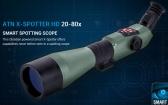 原装进口ATN X-SPOTTER HD 20-80x200 mm智能单筒高倍夜视望远镜 原装进口ATN X-SPOTTER HD 20-80x200 mm智能单筒